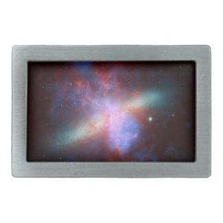 Galaxy M82 Hubble NASA Belt Buckle