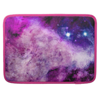 "Galaxy Macbook Pro 15"" Cover Pink Purple Stars v2 Sleeve For MacBooks"