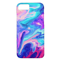 Galaxy Marble Modern Abstract Watercolor iPhone 7 iPhone 8/7 Case