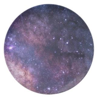 Galaxy Melamine Plate
