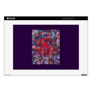 "Galaxy Mixed Media Print 15"" Laptop Skin"