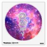 Galaxy Nebula Glitter dreamcatcher Pink Space Room Graphic