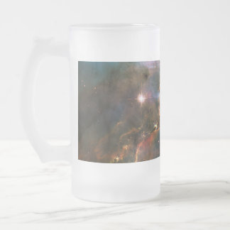 Galaxy Nebula Nebulae Supernova Star Explosion Frosted Glass Beer Mug