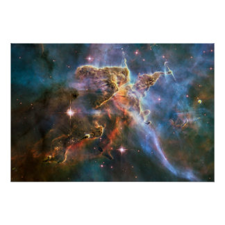 Galaxy Nebula Nebulae Supernova Star Explosion Poster