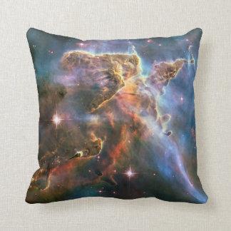 Galaxy Nebula Nebulae Supernova Star Explosion Throw Pillow