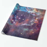 Galaxy Nebula space image. Gift Wrapping Paper