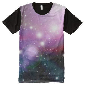 Galaxy Nebula Stars All-Over-Print Shirt