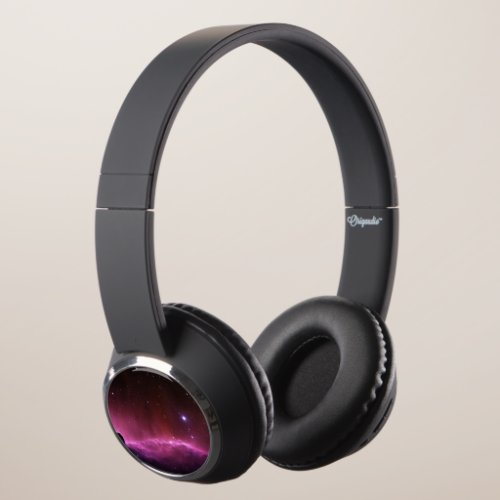 Galaxy nebula stars space hipster geek star cool headphones