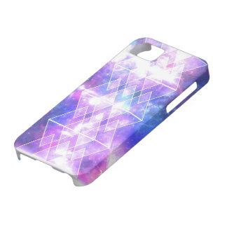 galaxy nebula stars TRIANGLES X DIAMONDS iPhone SE/5/5s Case