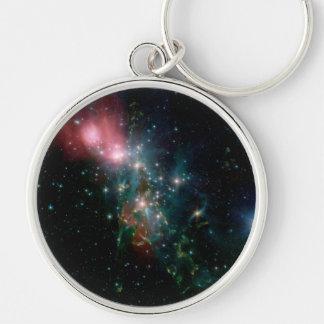 Galaxy NGC 1333 Keychain