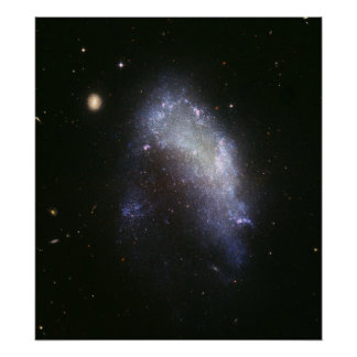 Galaxy NGC 1427A Plunges Toward the Fornax Galaxy  Poster