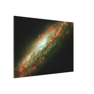 Galaxy NGC 3079 Canvas Print