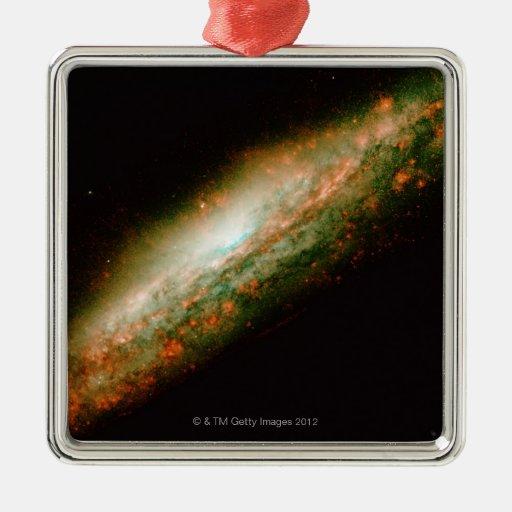 Galaxy NGC 3079 Christmas Ornaments