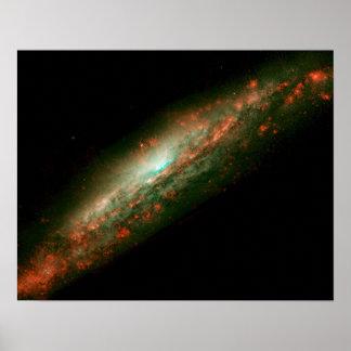 Galaxy NGC 3079 Poster