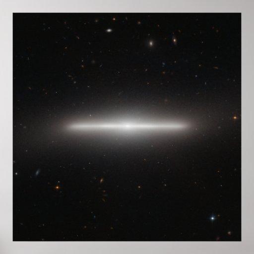 Galaxy NGC 4452 Poster