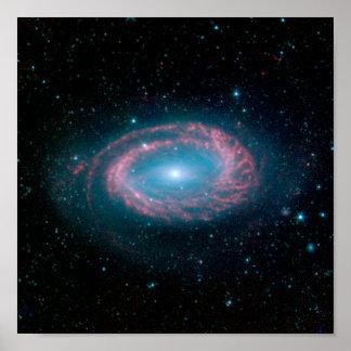 Galaxy NGC 4725 Poster