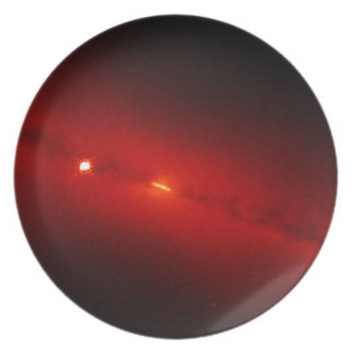 Galaxy NGC Infrared Light Plates
