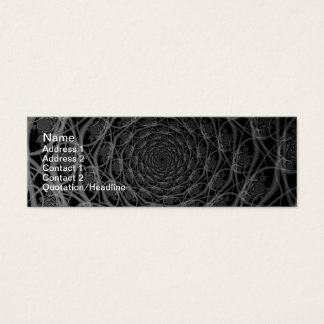 Galaxy of Filaments in Black and White Card