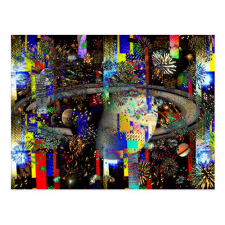 Galaxy of Fireworks Planets 2859b copy Post Cards