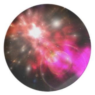 Galaxy of Light Dinner Plate