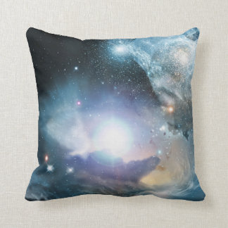 Galaxy Outer Space Throw Pillow