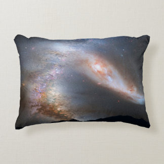 Galaxy Over The Mountains Accent Pillow