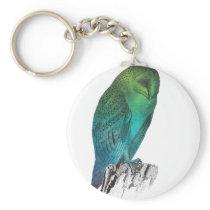 Galaxy owl 2 keychain