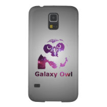 Galaxy Owl | Purple Universe Galaxy S5 Case