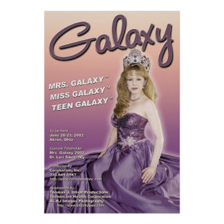 Galaxy Pageant 2002 Promo Poster