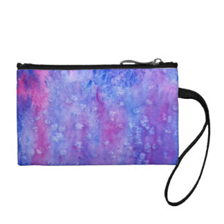 galaxy painting coin purse
