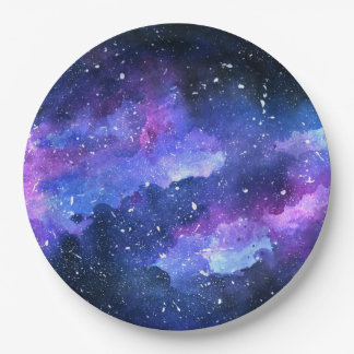 Galaxy Paper Plate