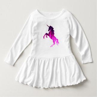 Galaxy pink beautiful unicorn sparkly image dress