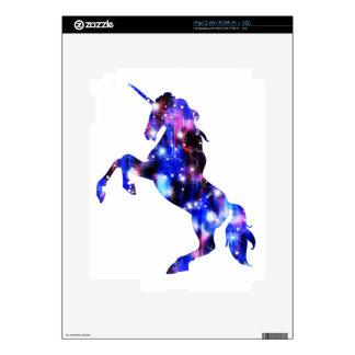 Galaxy pink beautiful unicorn sparkly image iPad 2 skin