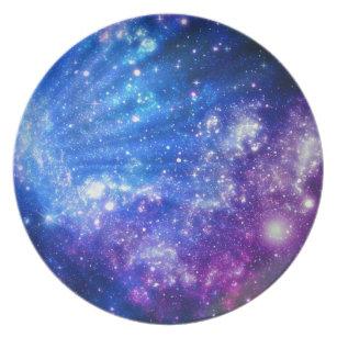 Galaxy Plates Zazzle