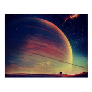 Galaxy Postcard