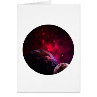Galaxy Purple 1 - purple Gláxia Card