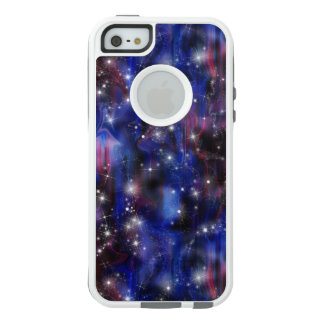 Galaxy purple beautiful night starry sky image OtterBox iPhone 5/5s/SE case