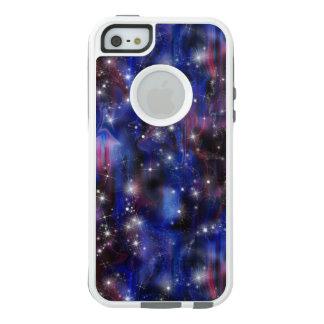 Galaxy purple beautiful night starry sky image OtterBox iPhone 5/5s/SE case
