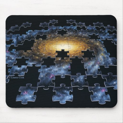 Galaxy Puzzle Mousepad
