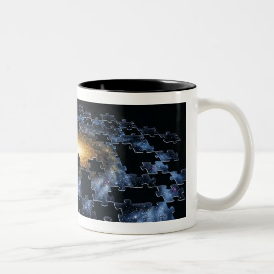 Galaxy Puzzle Mug