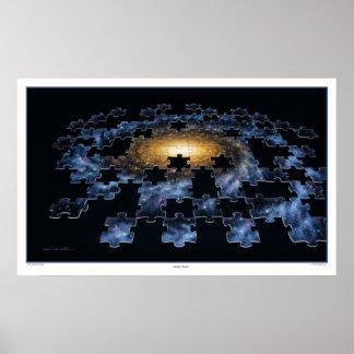 Galaxy Puzzle Print
