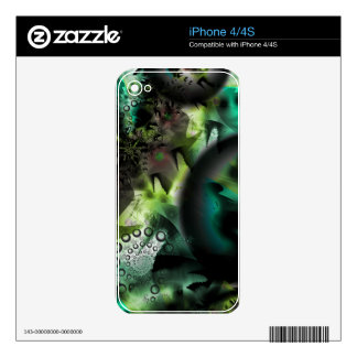 Galaxy Quest Space Art Decals For The iPhone 4S