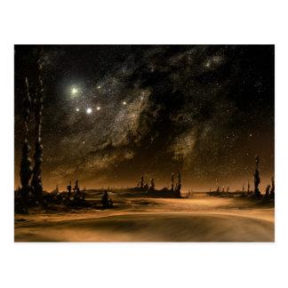 Galaxy Rise Postcards