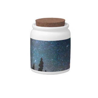 Galaxy Rising Candy Jars