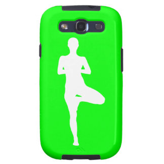 Galaxy S3 Case-Mate Yoga 1 Silhouette Green