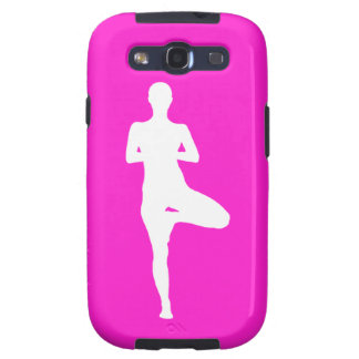 Galaxy S3 Case-Mate Yoga 1 Silhouette Pink