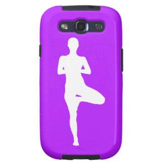 Galaxy S3 Case-Mate Yoga 1 Silhouette Purple
