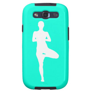 Galaxy S3 Case-Mate Yoga 1 Silhouette Turquoise