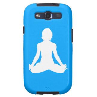 Galaxy S3 Case-Mate Yoga Silhouette Blue