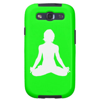 Galaxy S3 Case-Mate Yoga Silhouette Green